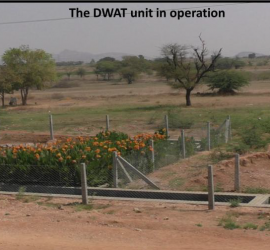The DWAT unit in operation