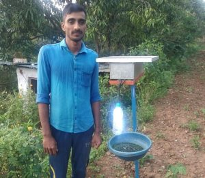 Renewable energy wards off pests in Dharwad district.