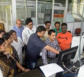 Hands-on training conducted for soil testing laboratory staff of Odisha at ICRISAT in the year 2018.